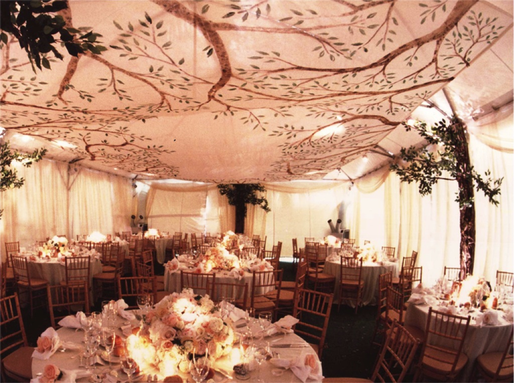 Ceiling Wedding Party Decorations