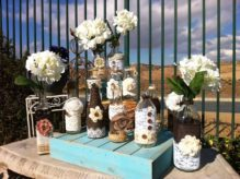 25 Rustic Wedding Decorations Ideas