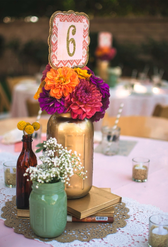 Colorful Bohemian Wedding Decorations