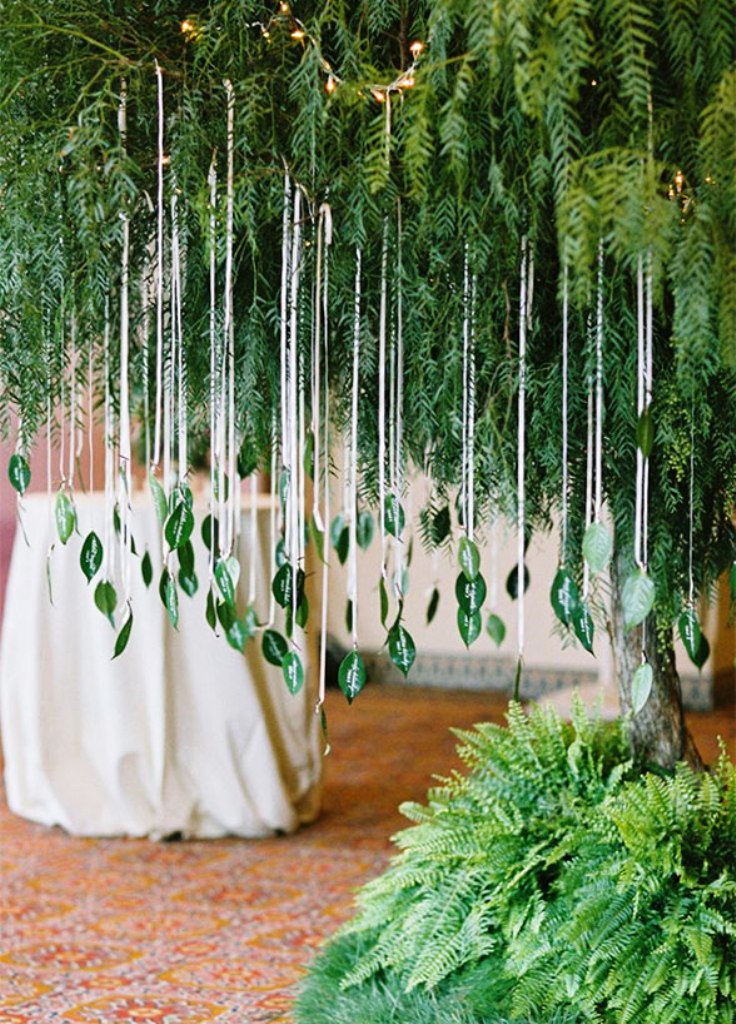 Cool Green Wedding Decorations