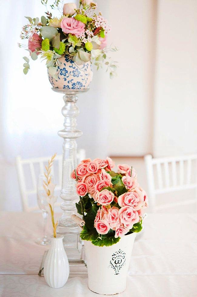Elegant Pastel Wedding Decorations