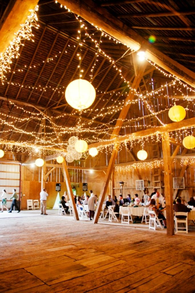 Handmade Rustic Barn Wedding Decorations