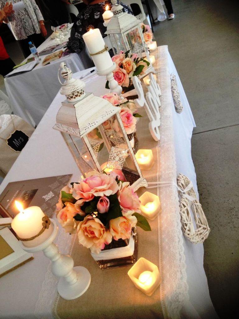 Homemade Country wedding decoration