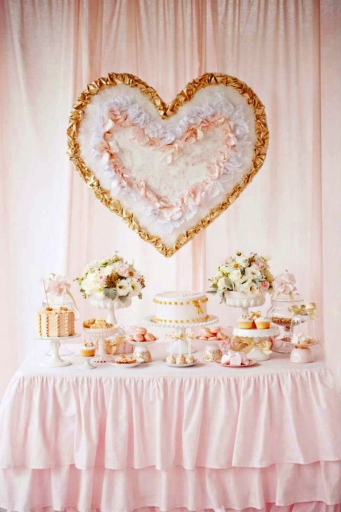 Hot Summer Blush Wedding Decorations