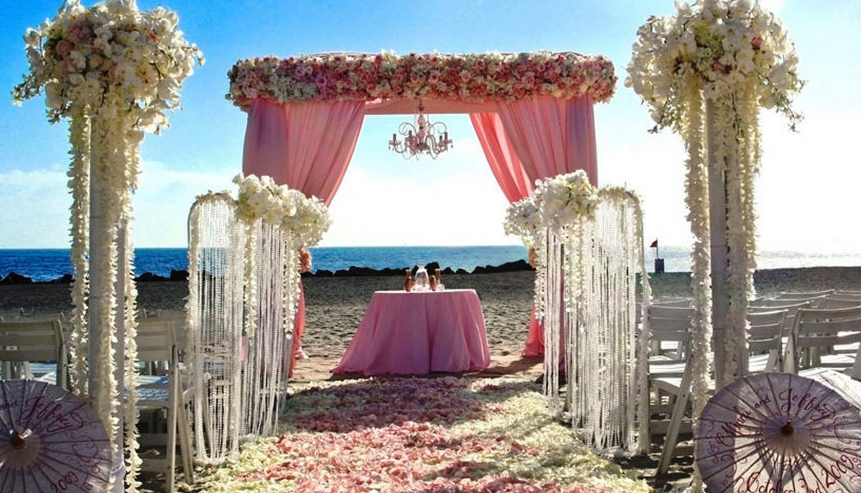 Incredible Beach Wedding Decorations Ideas