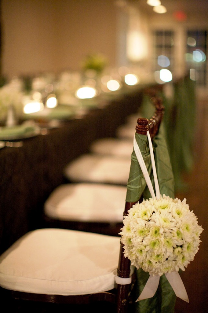 Indoor Fall Wedding Reception Decorations