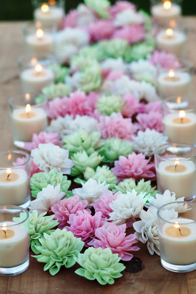 Mint Blush Wedding Decorations