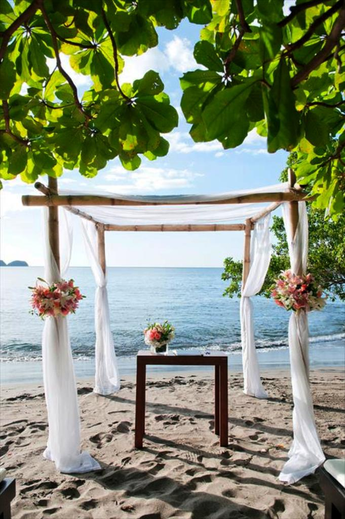 Outdoor Beach Wedding Decorations
