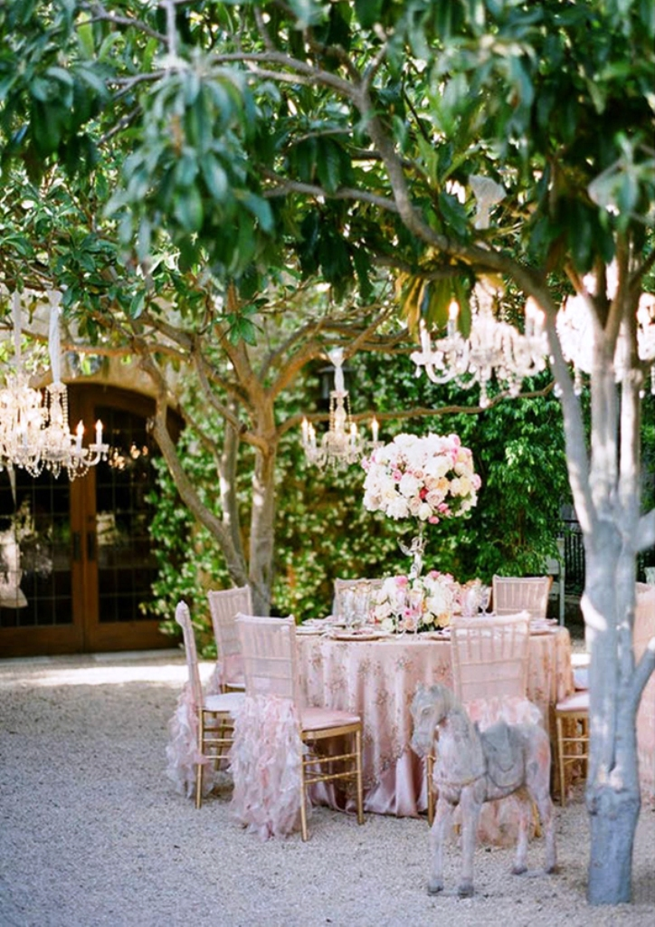 Outdoor Garden Wedding Decorations Ideas