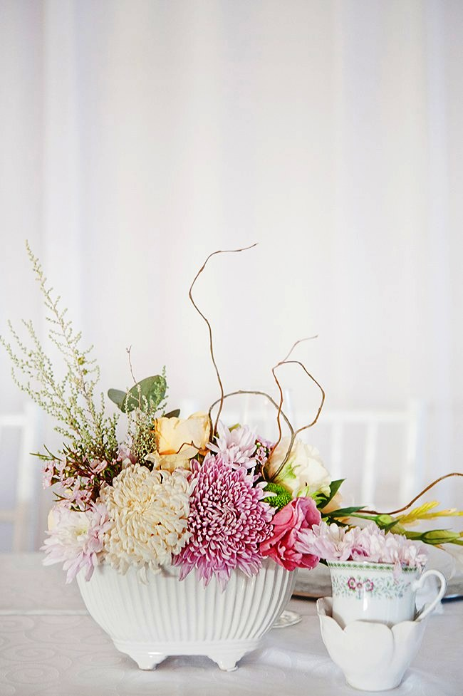 Pastel Floral Wedding Decorations