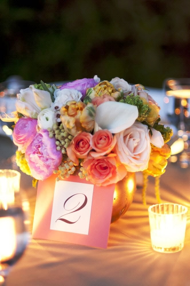 Pastel Wedding Centerpieces Decorations