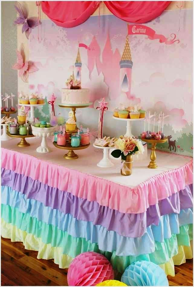 Princess Pastel Wedding Decorations