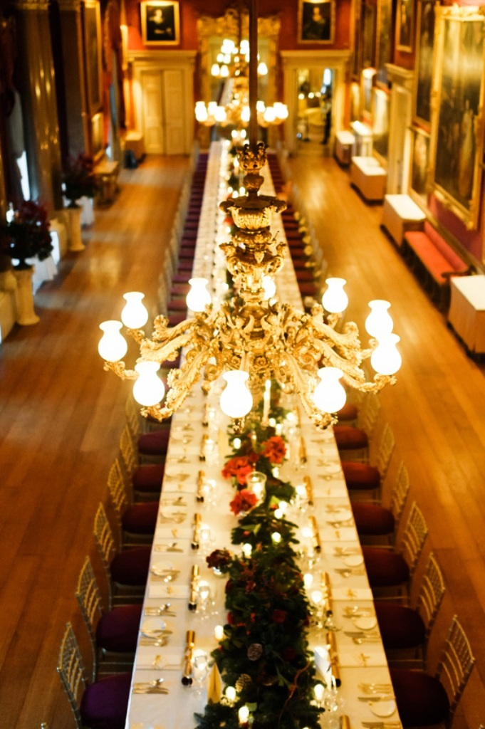 Red & gold Christmas Wedding Decorations