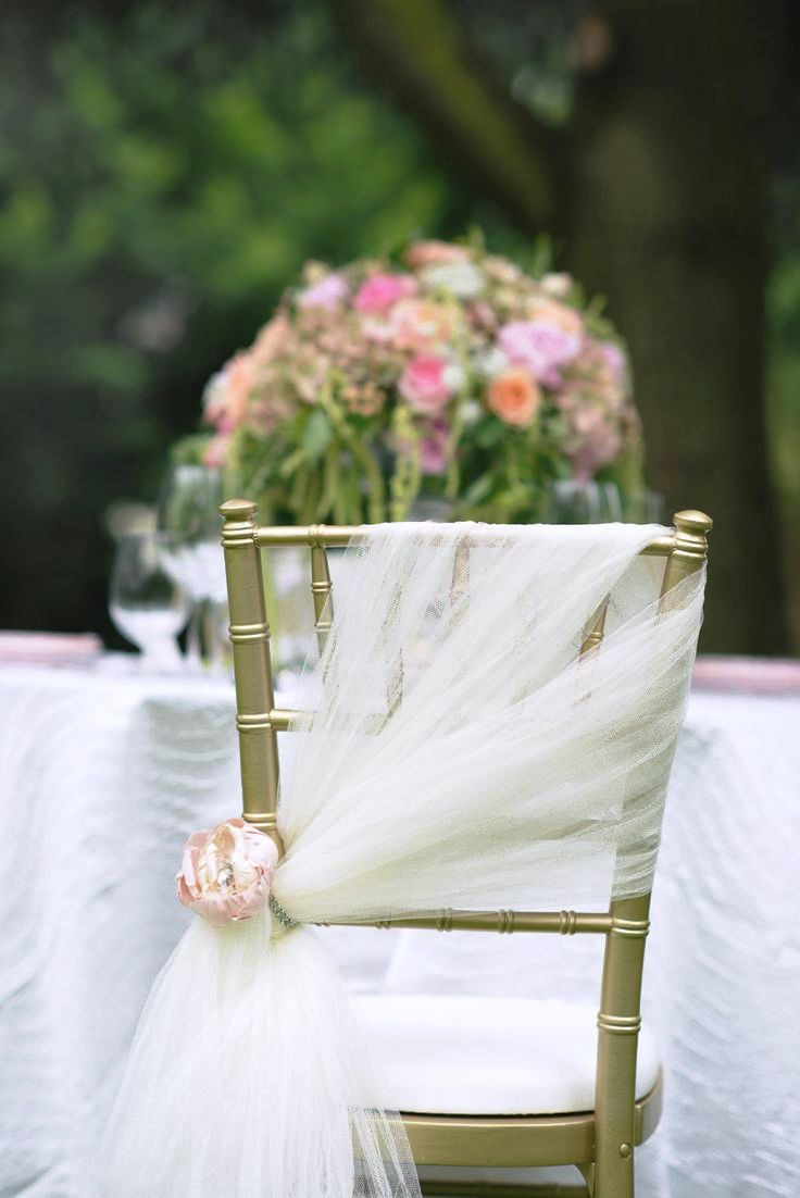 Simple Wedding Chair Decoration Ideas