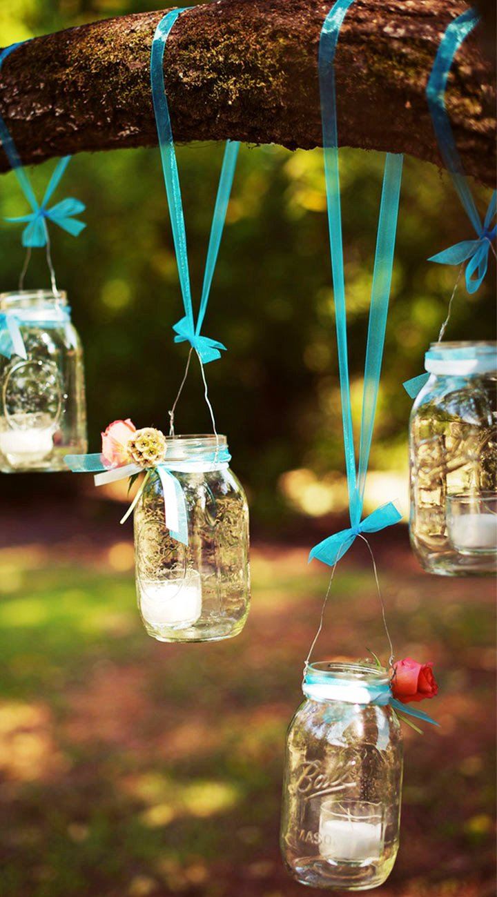 Simple Wedding Lanterns Decorations