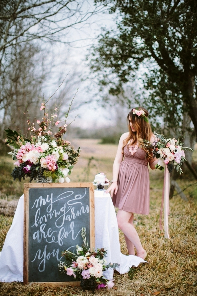 Spring Country Wedding Decorations Ideas