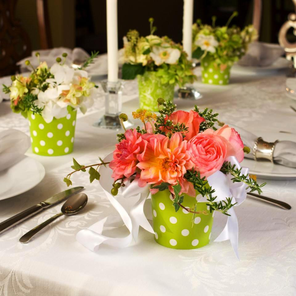 Spring Wedding Flowers Table Decorations