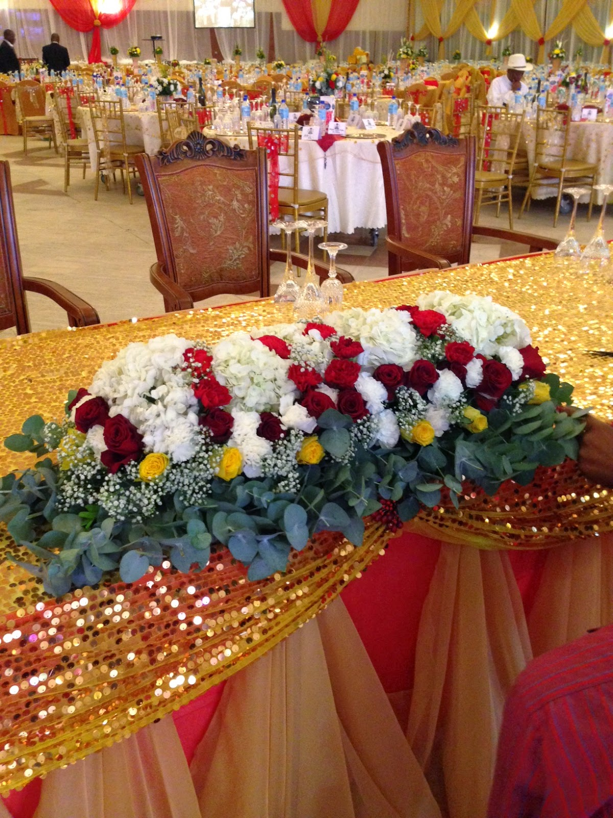Stunning Wedding Hall Decorations