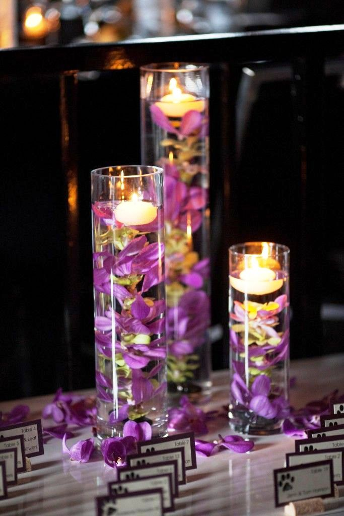 Tall Wedding Centerpiece Decorations Ideas with Candles