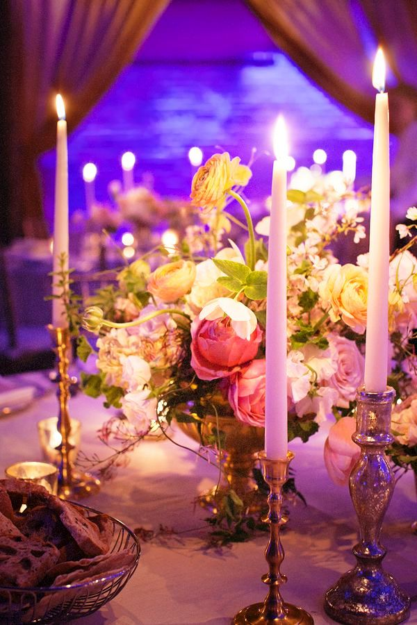 Taper Candle Wedding Decorations