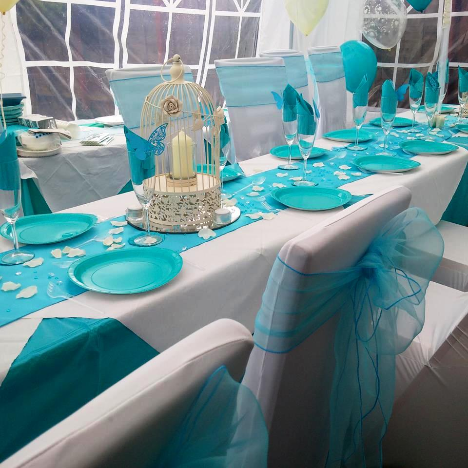 Turquoise Wedding Decorations Ideas