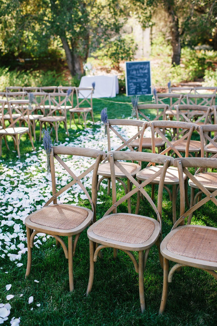 Wedding Ceremony Chair Decorations