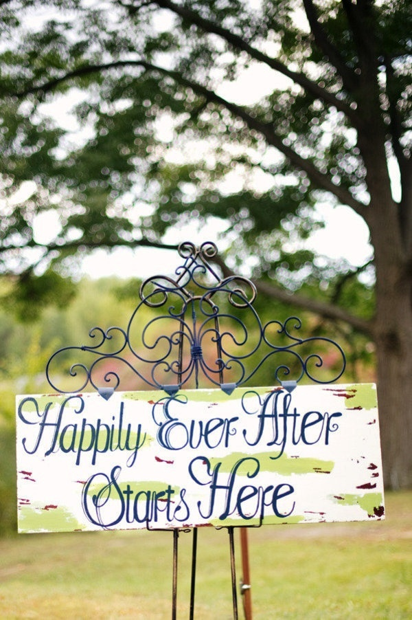 Wedding Sign Decorations Ideas