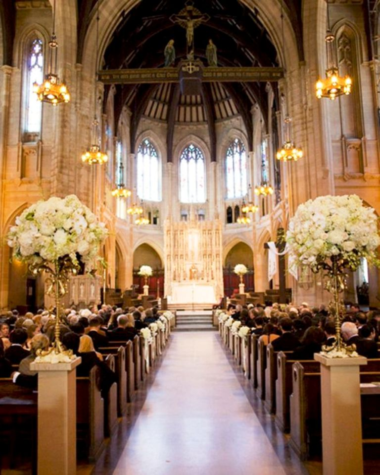 Wedding Decoration Ideas For Church Ceremony