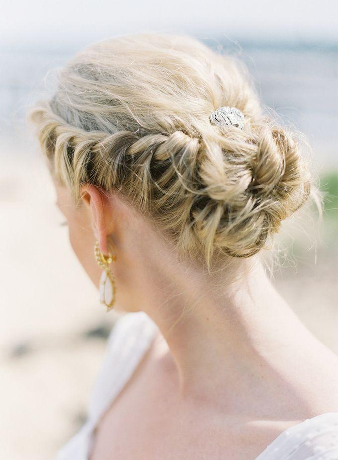 Beach Updo Wedding Hairstyles
