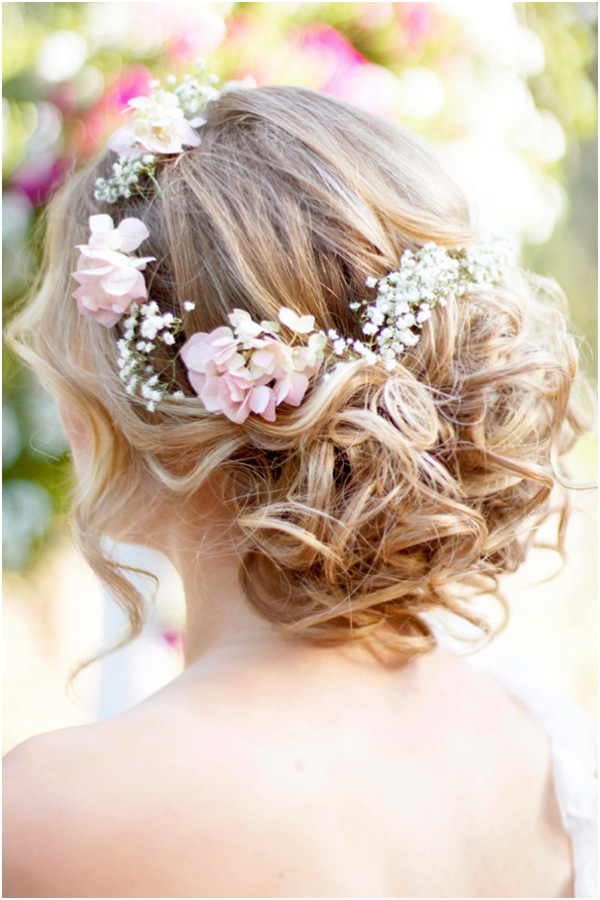 Boho Updo Wedding Hairstyles