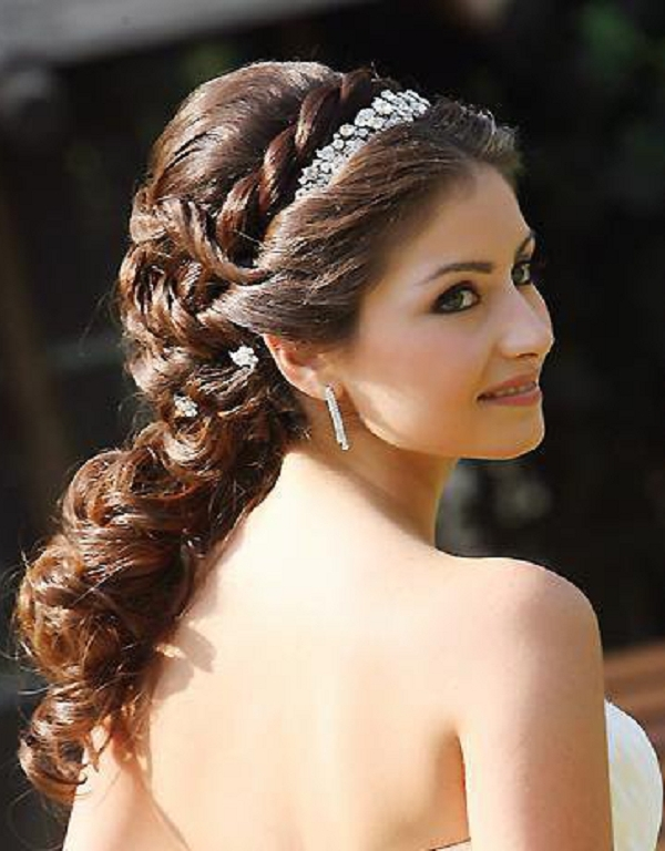 Brides Wedding Hairstyles For Bridesmaids