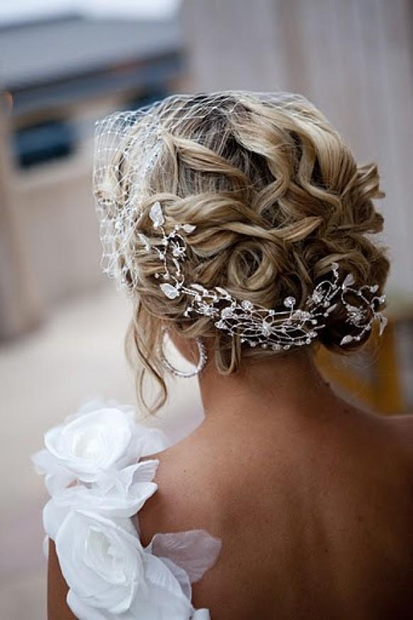 Bridesmaid Messy Wedding Hairstyles