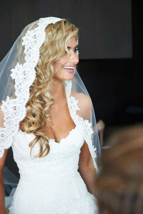 57 Beautiful Wedding Hairstyles With Veil - Wohh Wedding