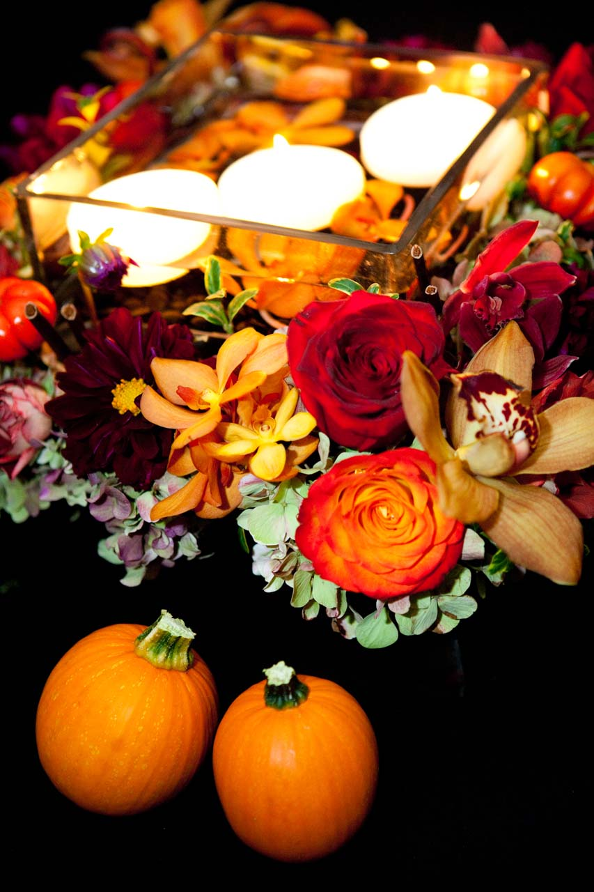Classy Halloween Wedding Flowers Ideas