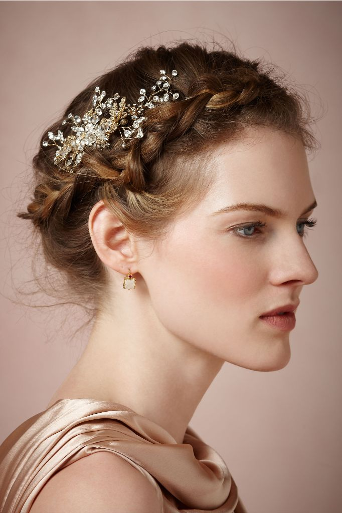 Crowns Wedding Hairstyles With Braids