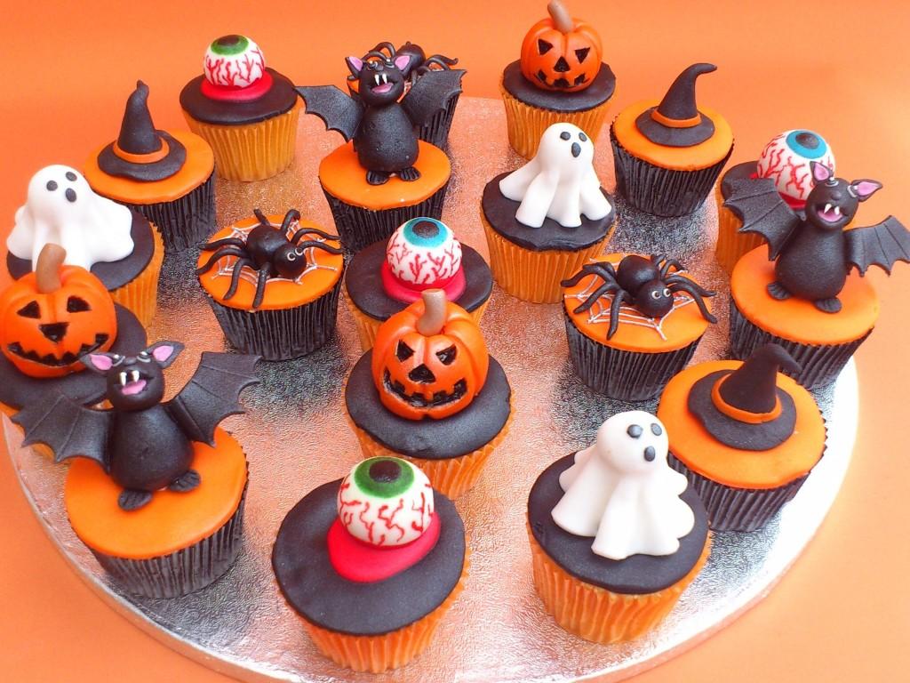 Halloween Cupcake For Wedding
