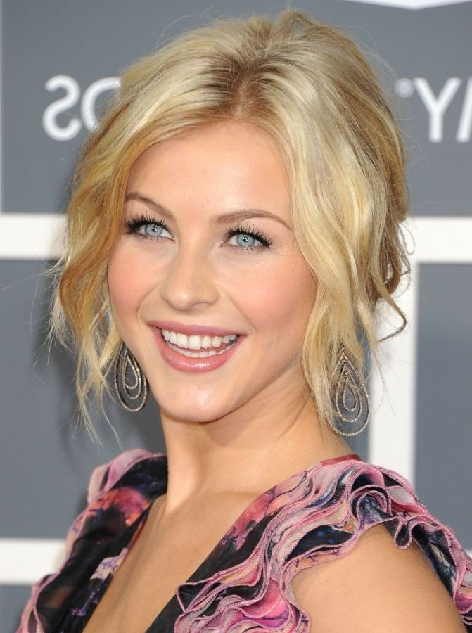 Julianne Hough Wedding Hairstyles For Bridesmaids