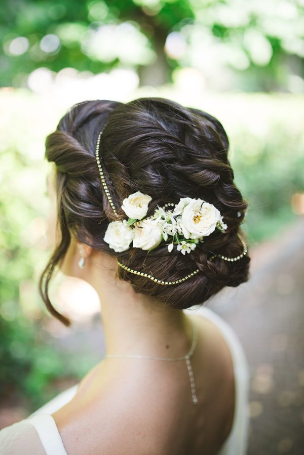 Rustic Vintage Wedding Hairstyles