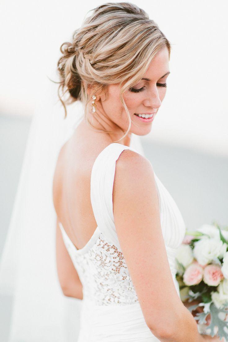 Simple Romantic Wedding Hairstyles