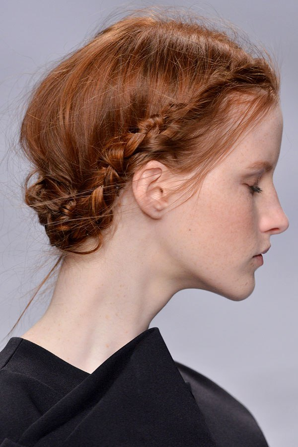 Simple Wedding Hairstyles For Thin Hair