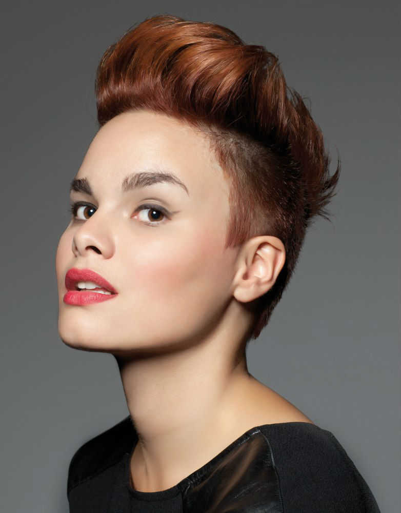 Undercut Short Wedding Hairstyles