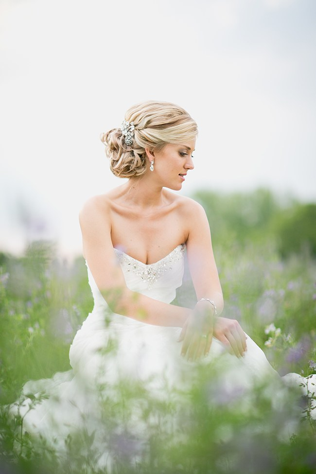 Updo Country Wedding Hairstyles