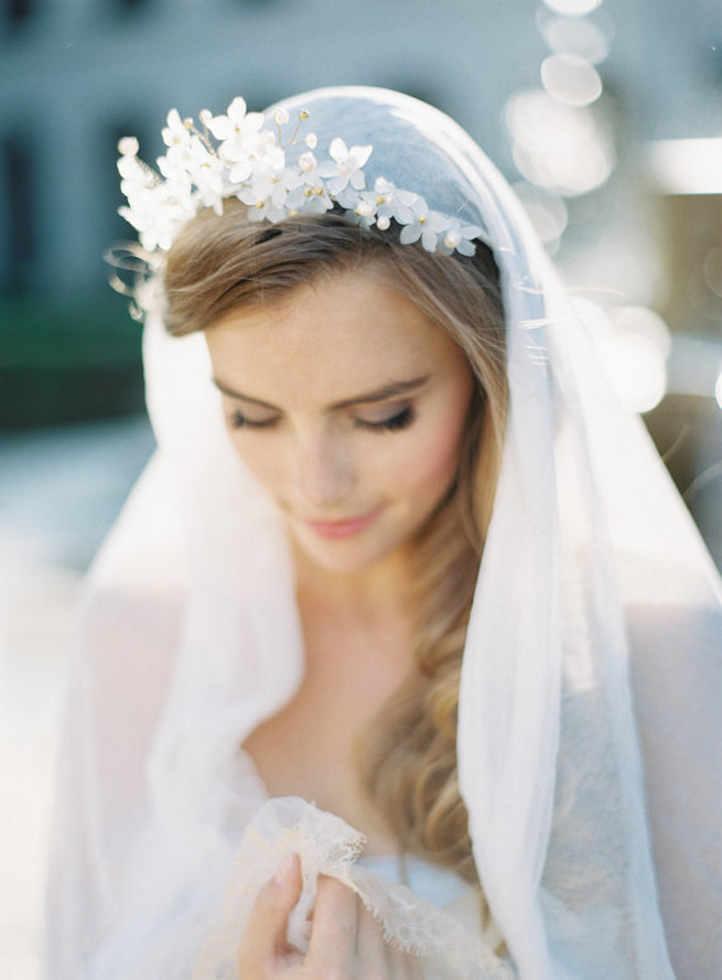 Vintage Wedding Hairstyles With Veil