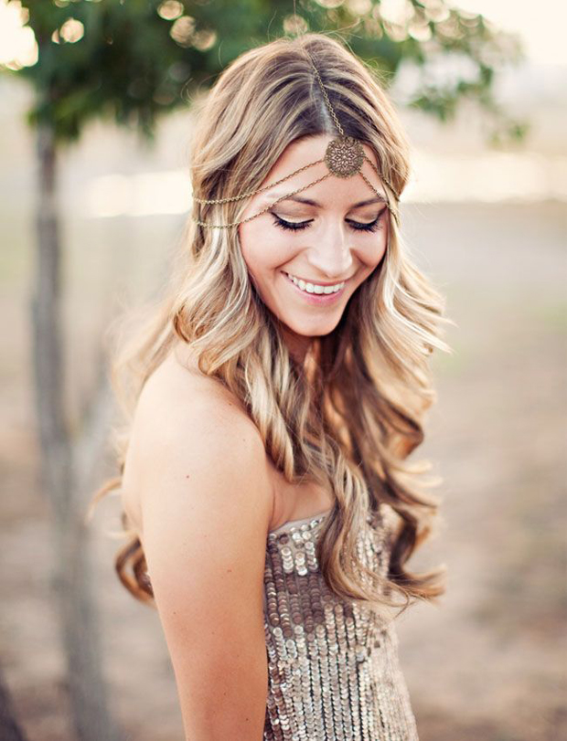 Waves Wedding Hairstyles For Bridesmaids