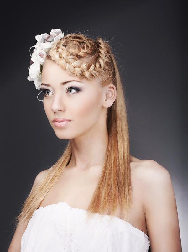Wedding Hairstyles For Long Hair Straight