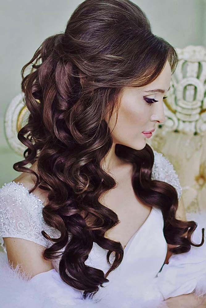 Awesome Wedding Hairstyles With Bangs