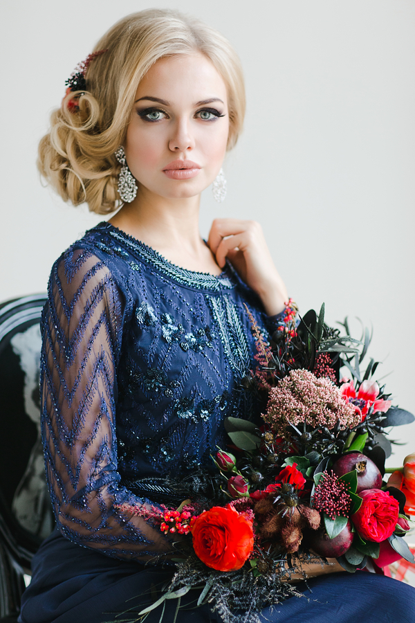 Curls Winter Wedding Hairstyles