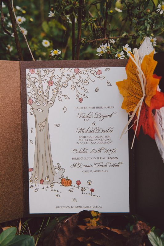 diy-fall-wedding-invitations