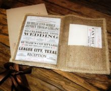 25 Rustic Wedding Invitations You Can't Miss