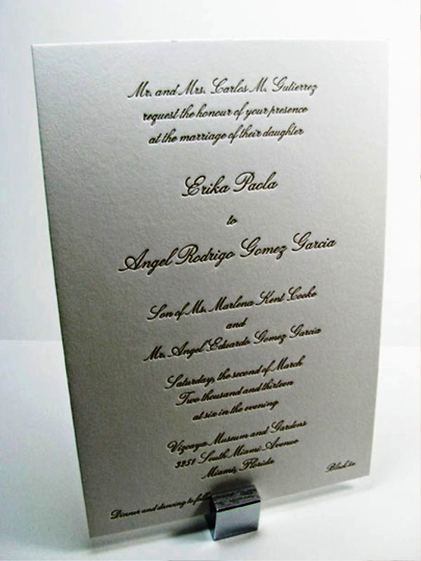 28 Traditional Wedding Invitations To Create Formal